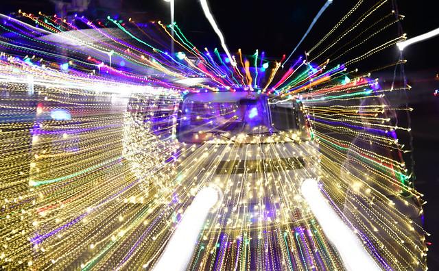 Leuchtender VW-Bus // Luminous VW bus