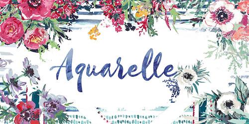 aquarelle banner