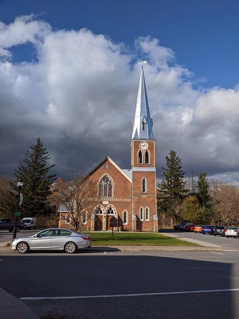 St Paul United Church in Ormstown