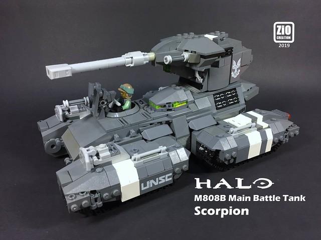 Scorpion Main Battle Tank v.2 from HALO series
