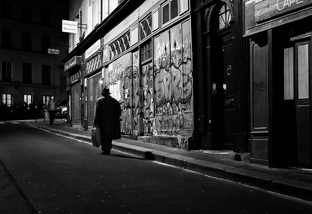 Paris, rue de l'Arbalète
