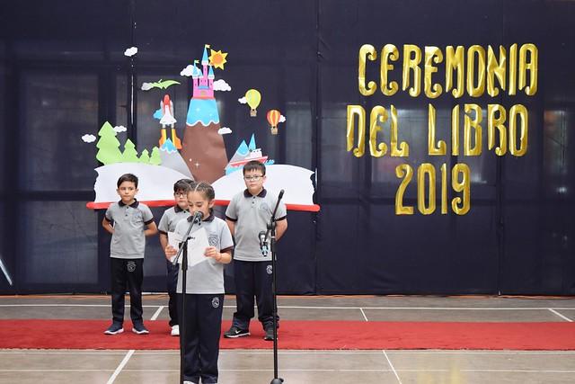 1º B: Ceremonia del Libro 2019