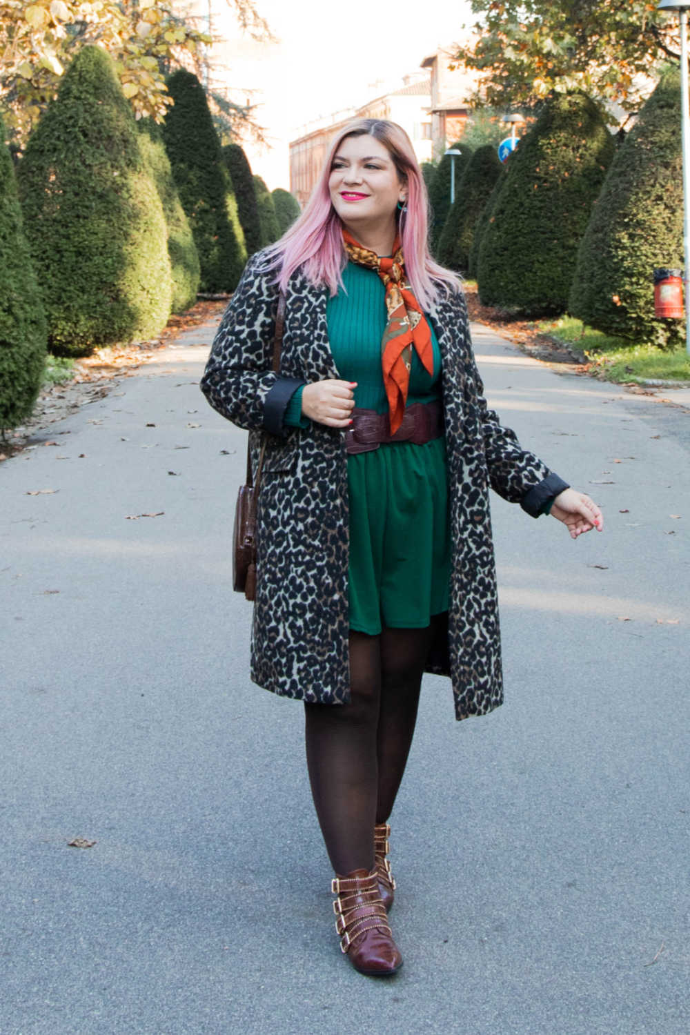 Outfit curvy personal size, pantaloncini come indossarli d'inverno (5)