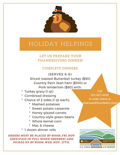 Thanksgiving Holiday Helpings 2019-menu