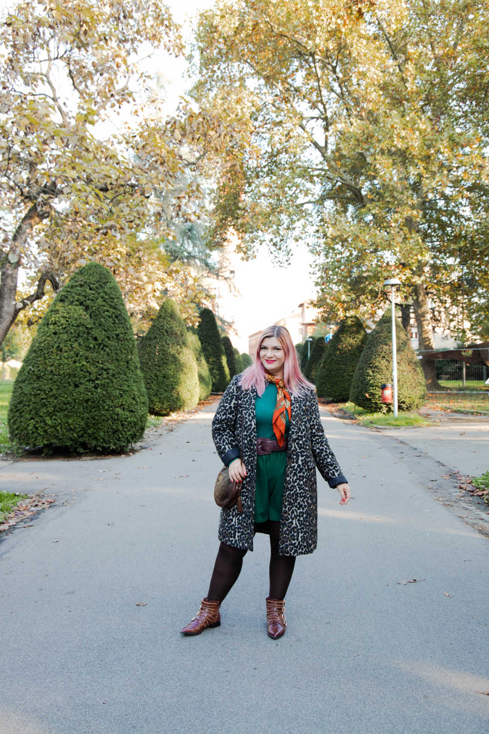 Outfit curvy personal size, pantaloncini come indossarli d'inverno (6)
