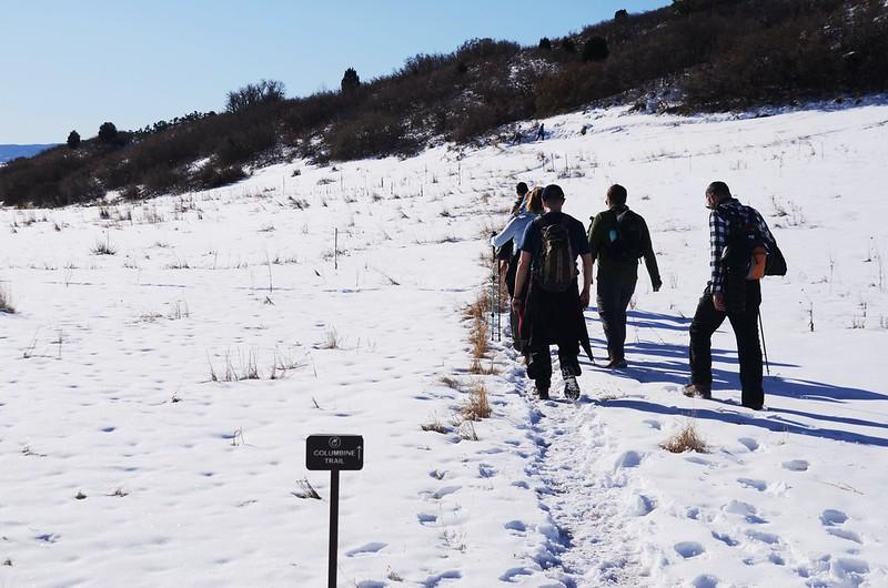 Columbine Trail、Cathy Johnson Trail junction (2)