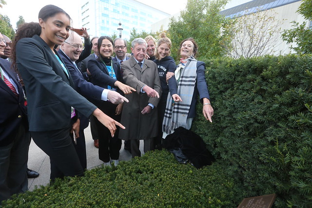Wageningen Tree Dedication in the Ruan Garden