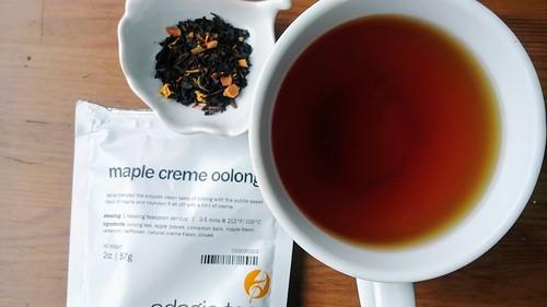 Maple Creme Oolong Tea