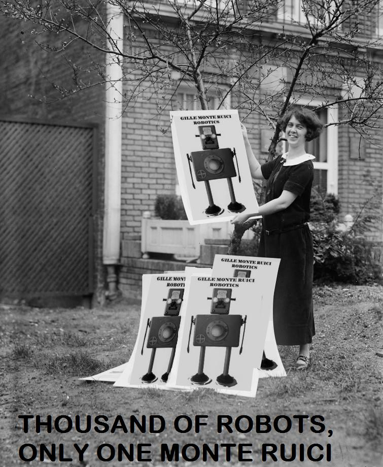 Thousand of robots, only one