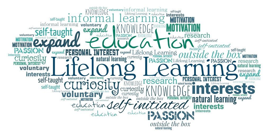 "Lifelong Learning | A word cloud featuring ""Lifelong Learnin… 