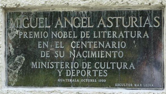 DSC00269GuatemalaGuatemalaCityAvenidaLasAméricasMaxLeivaMiguelAngelAsturiasOctubre1999GuatemalaCity