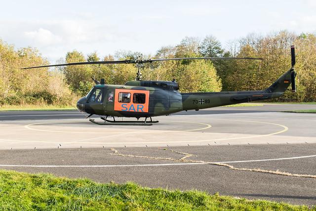 Nörvenich ETNN 2019 :  HEER UH-1D 70+89 SAR THG-30