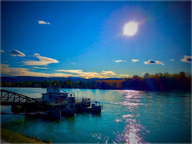 Novembersonne an der Donau