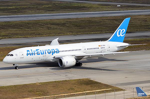 Air Europa B787-8 (Gustavo Martínez)