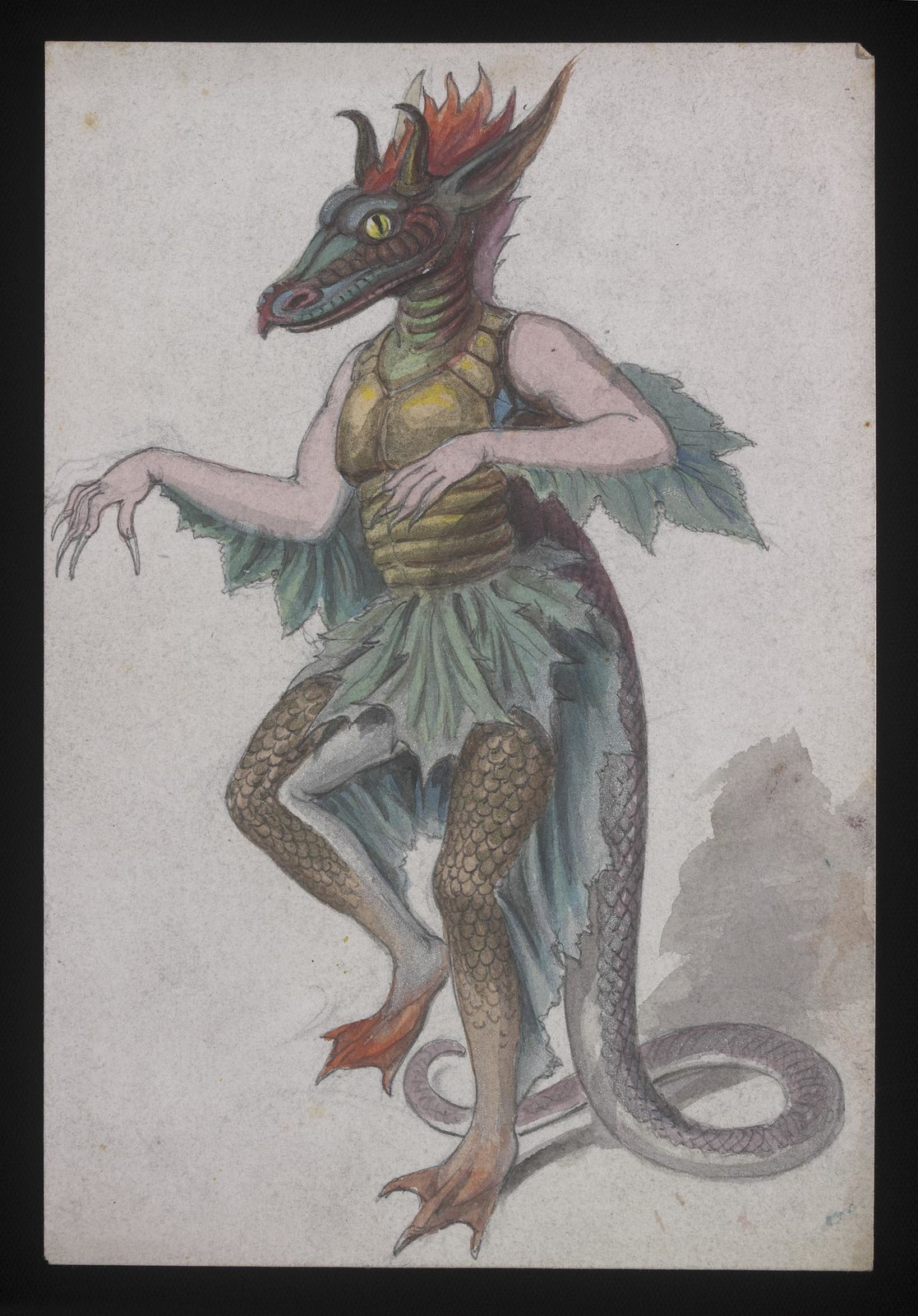 Costume Design - 04, late 19th C