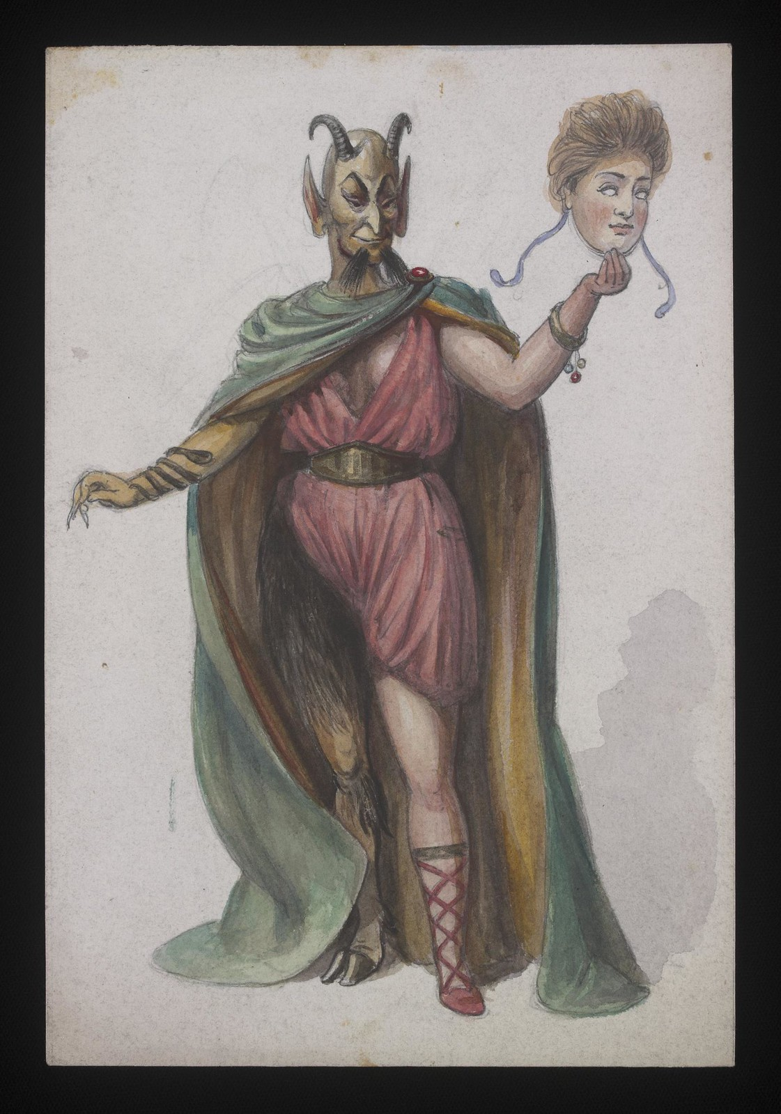 Costume Design - 03, late 19th C