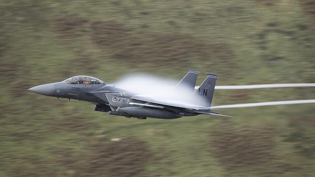 F15 Eagle in Scott's fini flight