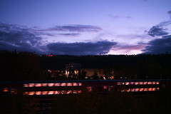 Dusk and The Train