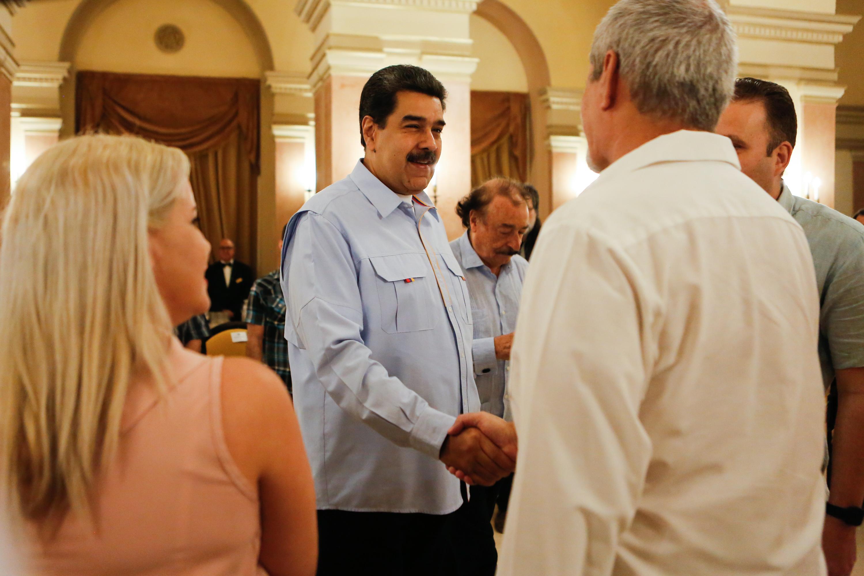 Presidente Maduro se reunió con Red de Intelectuales cubanos en La Habana