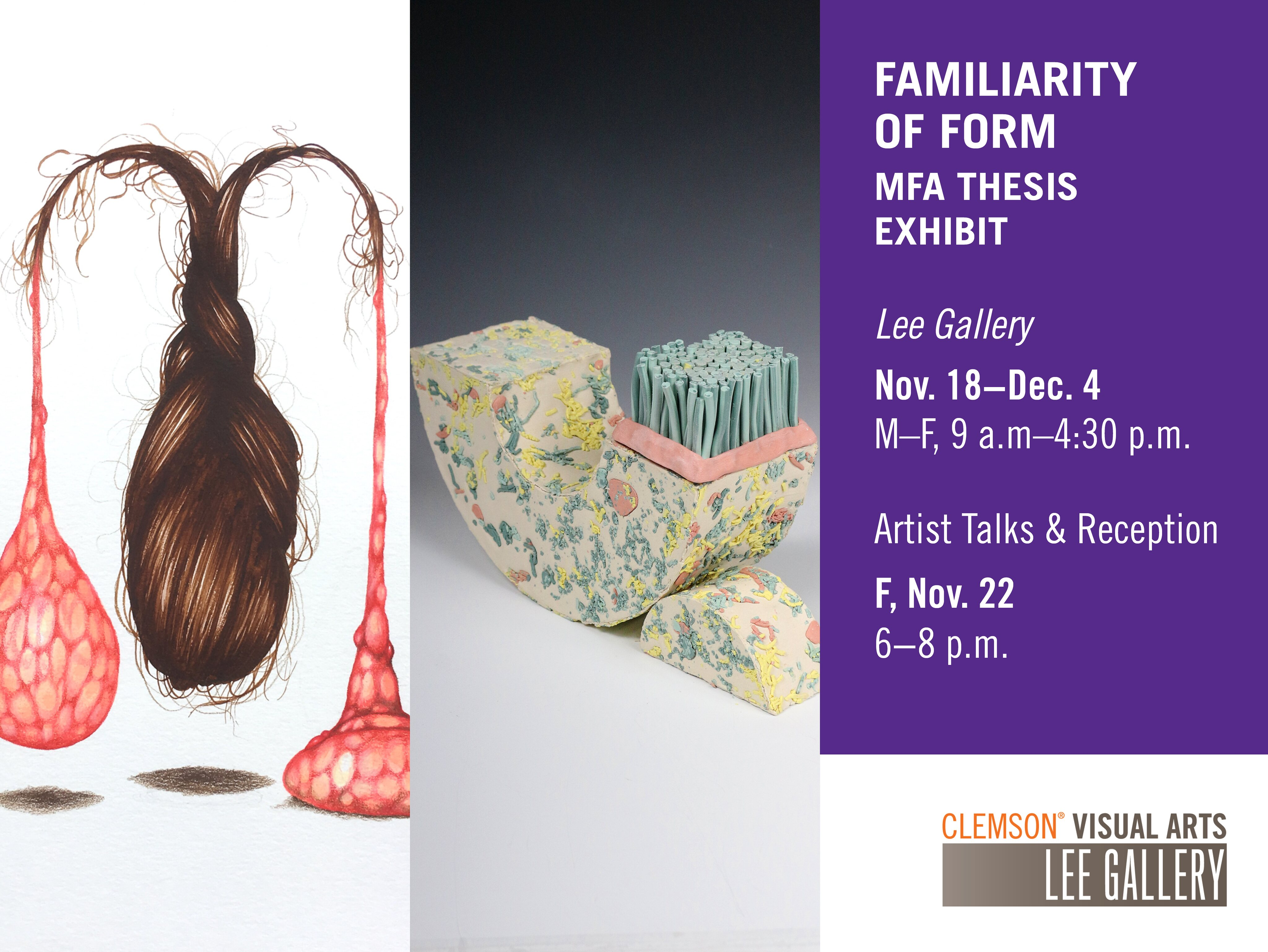 2019 Fall MFA Exhibit: Familiarity of Form