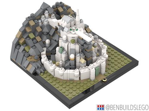 Micro Minas Tirith (3)