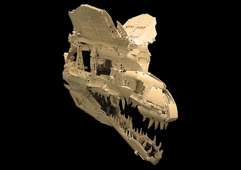 Dilophosaurus Skull [1:1]