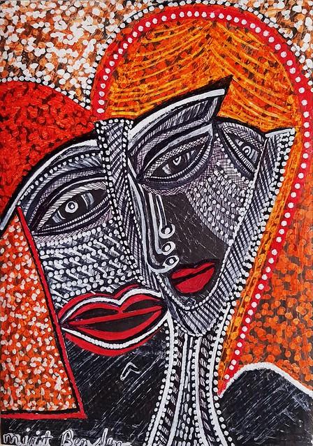 בן נון מירית ציירת אמנית מודרנית ישראלית סגנון חדשני