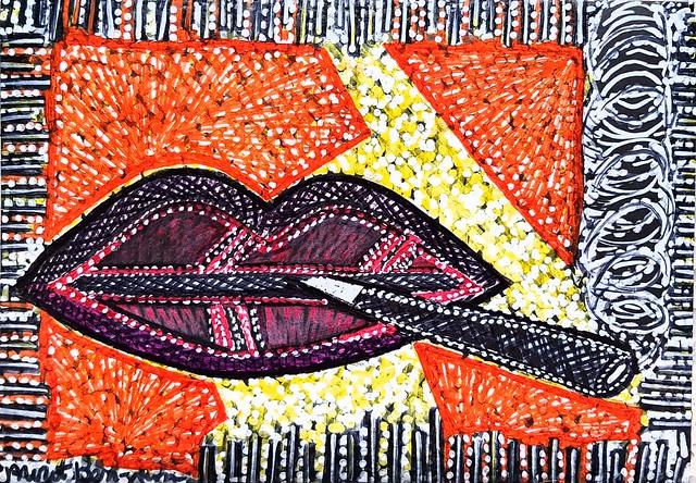בן נון מירית אמנית מודרנית ציירת עכשווית סגנון פרימיטיבי