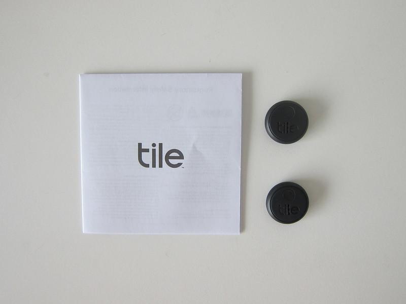 Tile Sticker - Box Contents