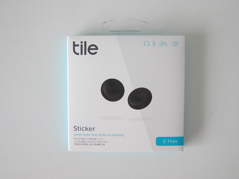 Tile Sticker - Box Front
