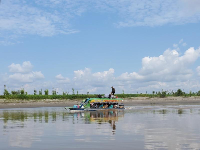 Iquitos boat