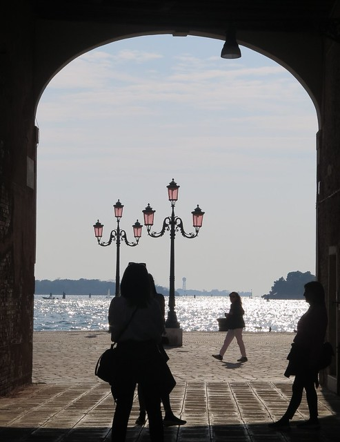 Walking in the Castello district of Venice