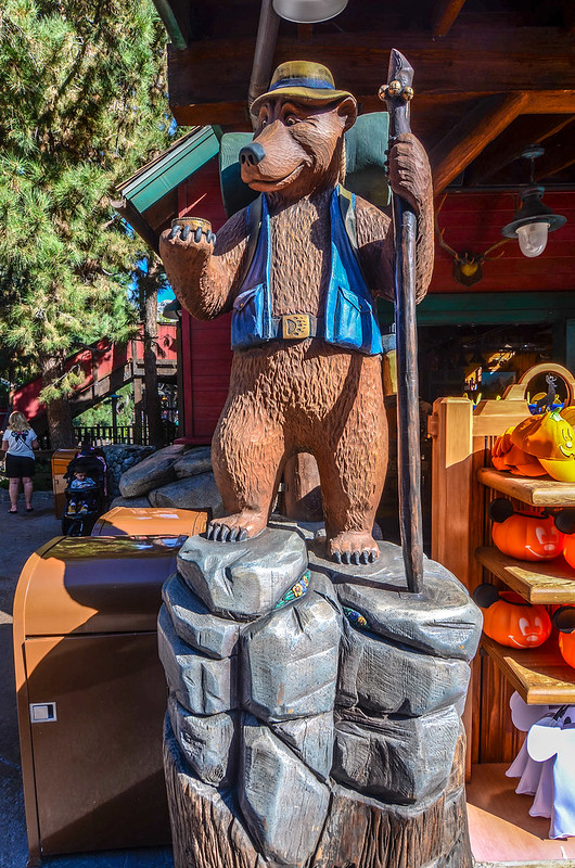 Backpacking bear Grizzly Peak DCA