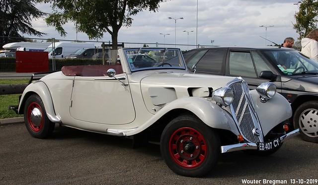 Citroën Traction Avant 11 BL cabriolet 1937