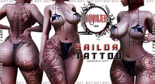 NEW NOVEMBER GIFT INWORLD ! Tp below ❣️ Shop Hoodlem ! http://maps.secondlife.com/secondlife/Bloom/163/156/40 #secondlife #sl #slavi #tattoos #slife #secondlifeonly #hoodlemink