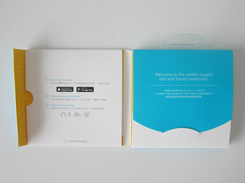 Tile Sticker - Box Open