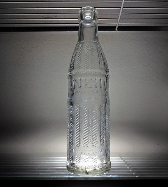 1960 Nehi Soda Bottle Uniontown, PA