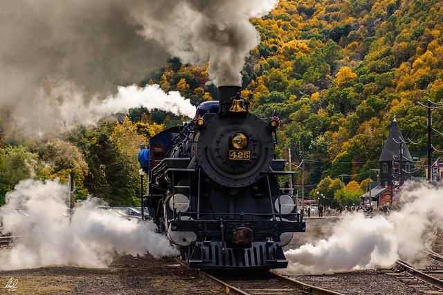 Steaming through Lehigh Valley