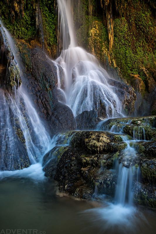 Fiftyfoot Falls Detail