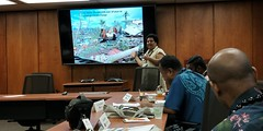 Pacific Islands Journalism Reporting Tour: Journalist Presentations, EWC, Honolulu, Hawai'i