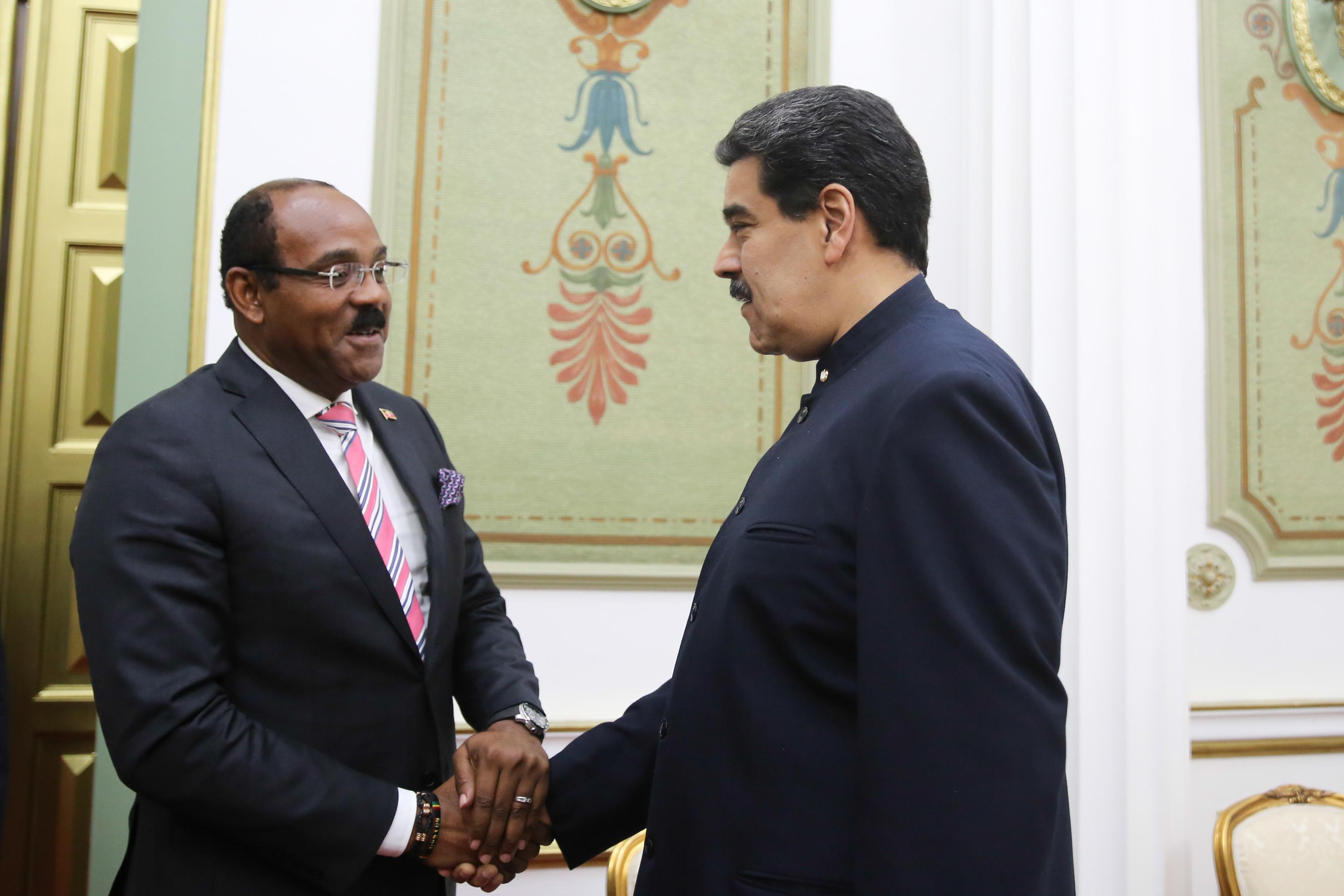 Venezuela y Antigua y Barbuda fortalecen relaciones diplomáticas