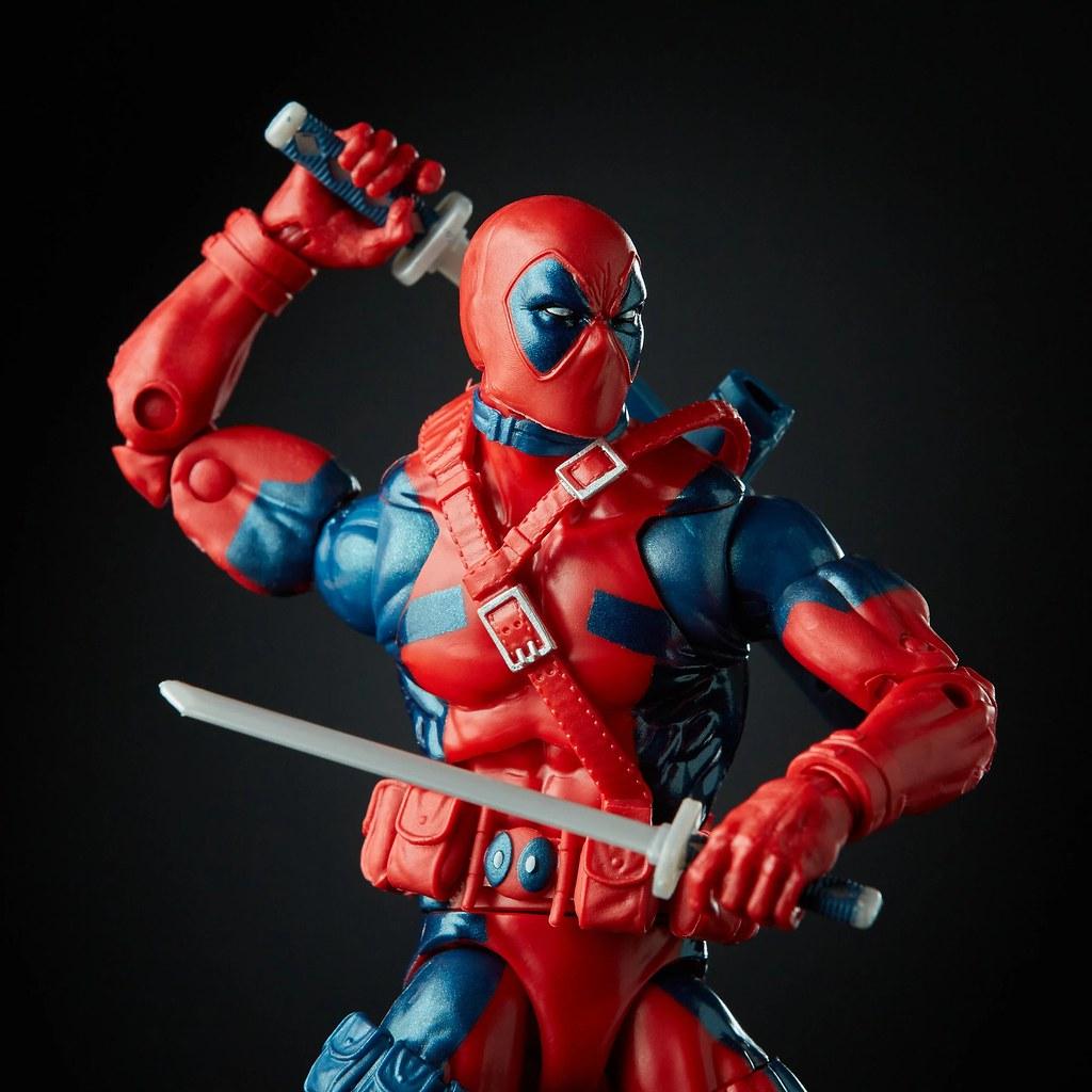 嘴砲傭兵來襲! Hasbro 漫威傳奇系列 Marvel 80 周年【死侍】Marvel Legends Deadpool 可動人偶