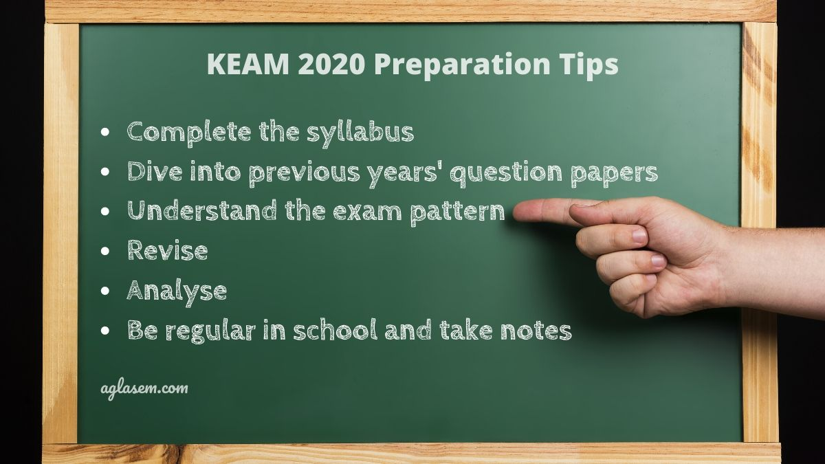 KEAM 2020 tips to prepare for the exam