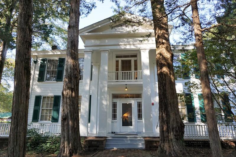 Rowan Oak, William Faulkner's Home in Oxford, Mississippi, Oct. 2019