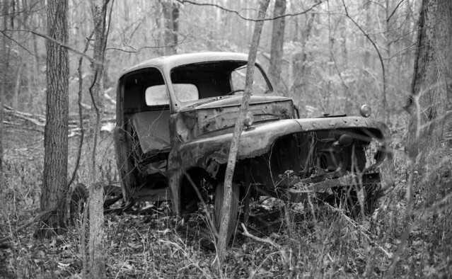 Abandoned Truck in Parke County