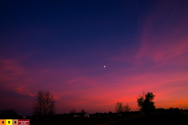 A Pacific Northwest Crush: A Dramatic Sunset (Part 249): As Dusk Approaches... (In Technicolor)