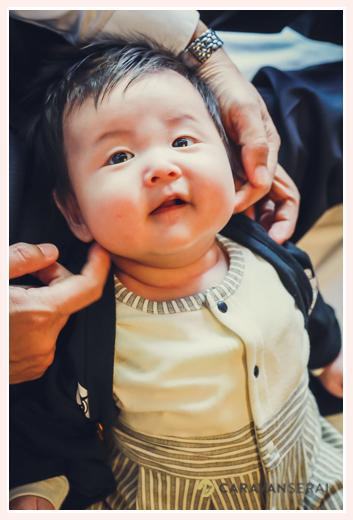 3か月の赤ちゃんの笑顔