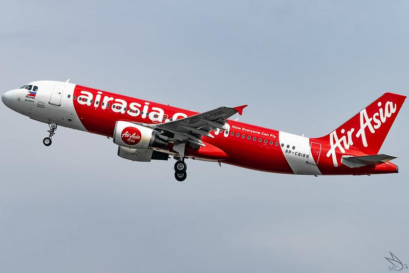 Philippines AirAsia - Airbus A320-216 / RP-C8189 @ Manila