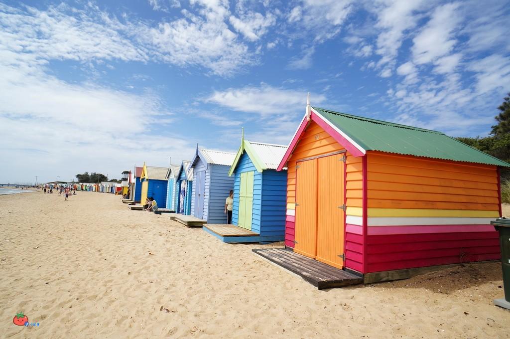 怎麼去墨爾本彩虹小屋交通