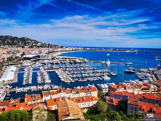 Panorama sur Cannes depuis le quartier du Suquet -IMG_20191005_150424